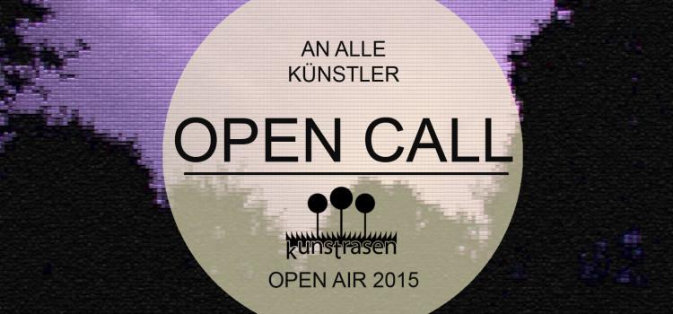 OPEN CALL – Kunstrasen sucht Künstler!