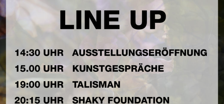 Programm und Time Table Kunstrasen Open Air 2016