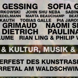 Kunstrasen Open Air 2016 KUNST-bericht