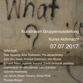 kunstrasen PRÄSENTIERT Gruppenausstellung Gesamtprogramm